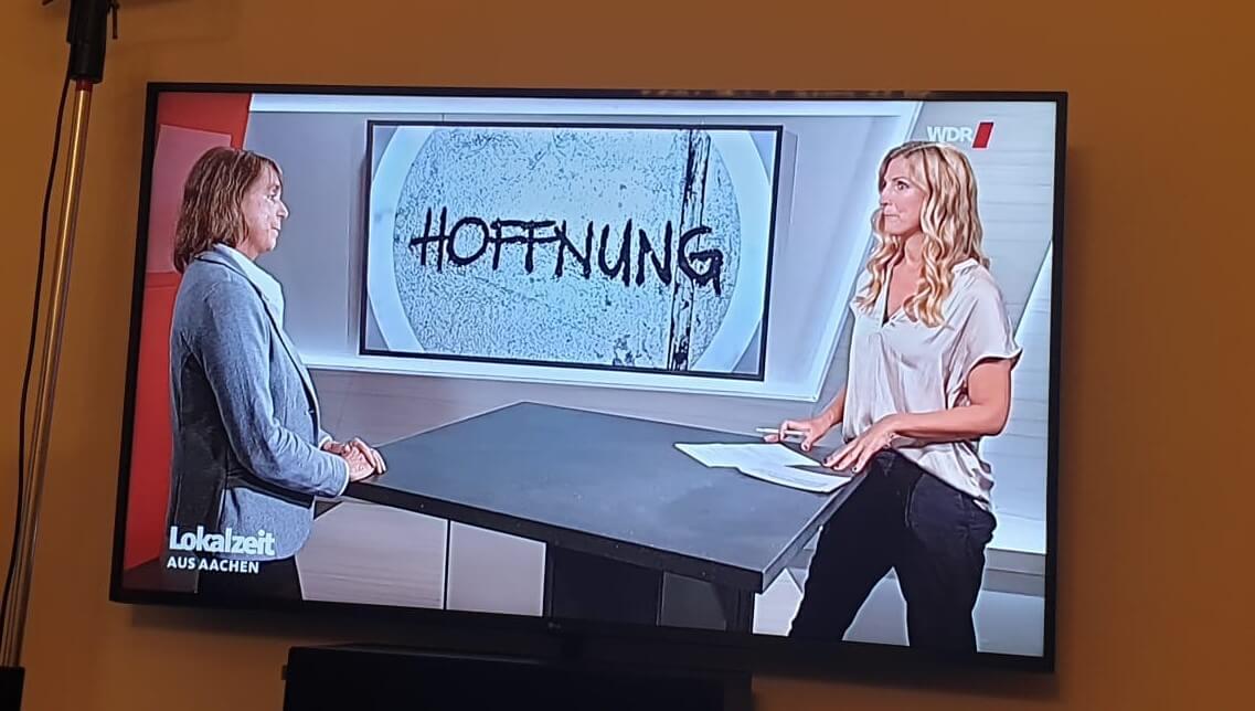 Fernsehauftritt WDR Lokalzeit